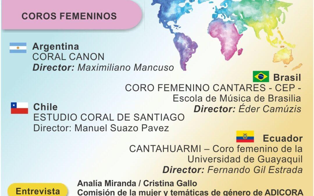 Comienza el XIV Festival Mundial Buenos Aires Coral 2020 –  Edición Virtual